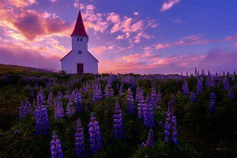 sunrise vik iceland paulmp deviantart