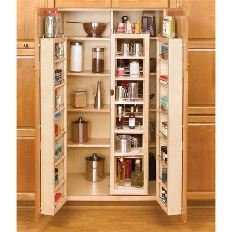 Rev A Shelf Swing Out Tall Kitchen Cabinet Chef's Pantries