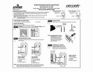 Wire Diagram For Receptacle And Plug Switch Combo