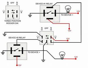 Split Coil Wiring For Toggle Switch Diagram