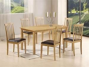 Chaise Table A Manger : table et chaises salle a manger occasion ~ Teatrodelosmanantiales.com Idées de Décoration