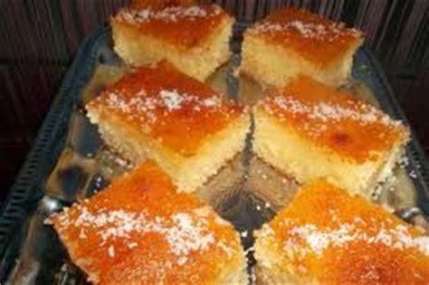 la cuisine de samira basboussa a la noix de coco recette basboussa algérienne