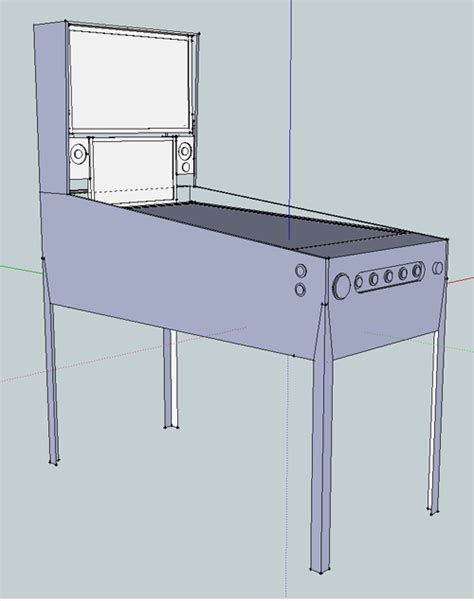 Pinball Cabinet Dimensions by Project Troy S Pinball Acrylic Build Pinball