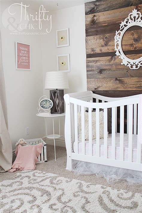 neutral girls nursery reveal kids girl nursery
