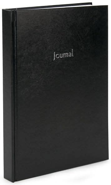 barnes and noble journals black basic lined journal 7 quot x 10 quot 9780641899843 item