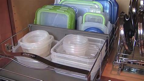 organize  plastic storage containers video