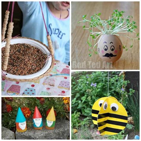 Kid's Garden Crafts 28+ Creative Ideas For The Little Ones