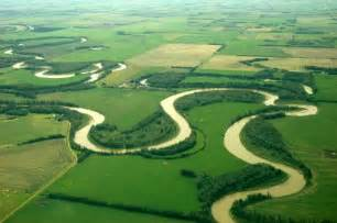Meandering River Landforms