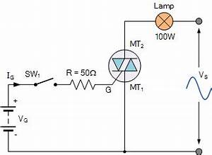 triac tutorial and triac switching circuits With triac circuit