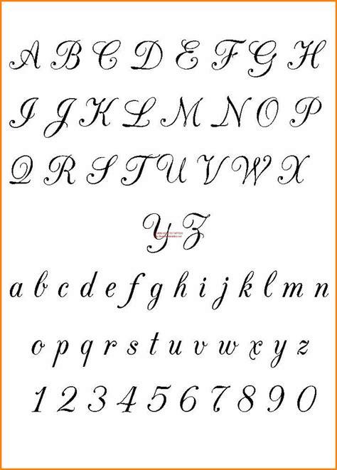 5+ Old English Cursive Letters  Bubbaz Artwork
