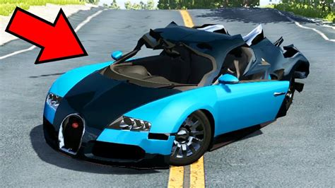 Feel the authentic and visceral driving of bugatti vision gran turismo 2015 with this beamng drive mod. COMO DESTRUIR UMA BUGATTI VEYRON DE R$ 10 MILHÕES! - BEAMNG DRIVE - YouTube