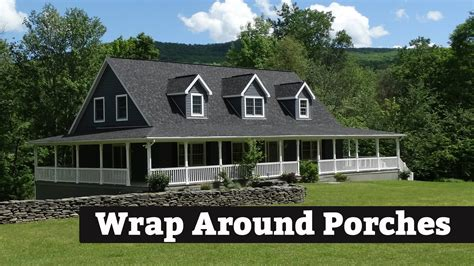 wrap around porch houses for sale beautiful wrap around porch kintner modular homes