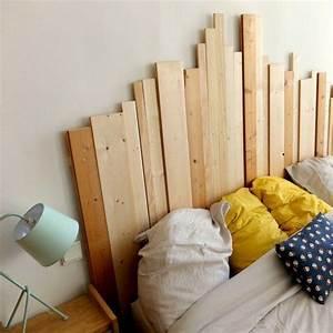 Faire Une Tête De Lit En Bois : tete de lit 15 mod les faire soi m me c t maison ~ Melissatoandfro.com Idées de Décoration