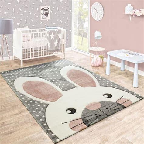 bolcom trendy kinder vloerkleed tapijt konijn grijs