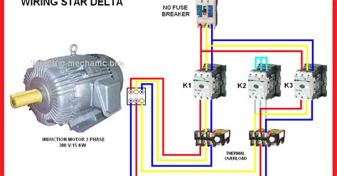 Electrical Page Star Delta Motor Connection Diagram