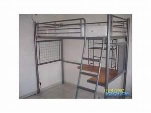 Lit Mezzanine Bureau Enfant : lit mezzanine enfant bureau clasf ~ Teatrodelosmanantiales.com Idées de Décoration