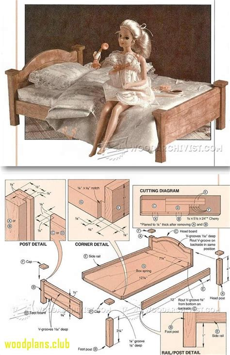doll furniture plans woodworking  spray paint