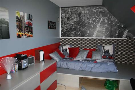 idee chambre ado garon best dco new york chambre garcon couleur peinture pour