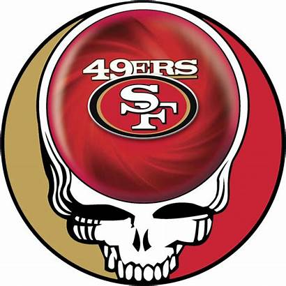 49ers Francisco San Dead Transparent Grateful Coloring