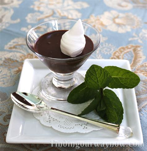 chocolate pots elegantly simple recipe finding our way now