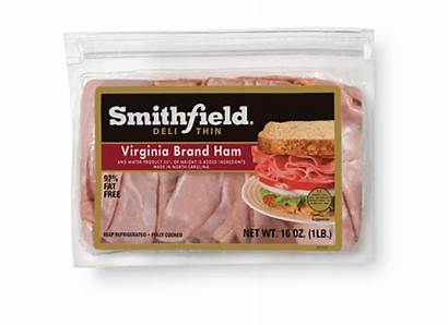 Ham Deli Virginia Smithfield Lunchmeat Thins Oz