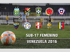 Listo calendario del Sudamericano femenino Sub 17