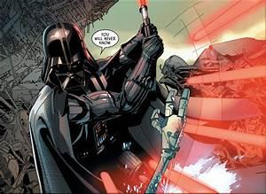 Darth Vader VS Commander Karbin | Comicnewbies