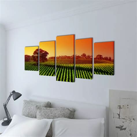 Bilder Dekoration Store by Der Bilder Dekoration Set Landwirtschaft 100 X 50 Cm