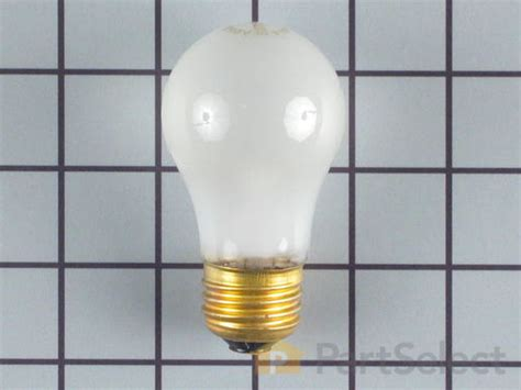 whirlpool fridge light bulb whirlpool 851682 refrigerator light bulb 40w 240v