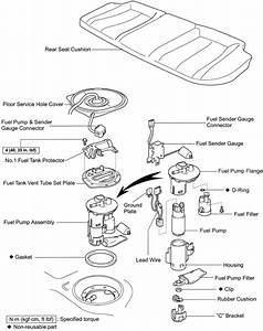 2007 Camry Fuel Filter Diagram