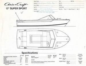 Chris Craft 17 Super Sport Specification Brochure