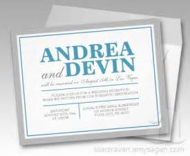 reception only wedding invitations gray blue wedding reception only invitations