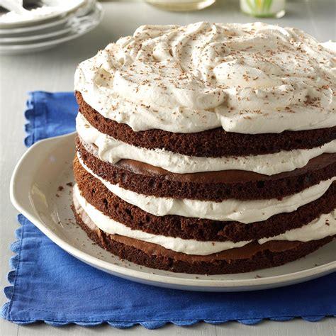 chocolate bavarian torte recipe taste  home