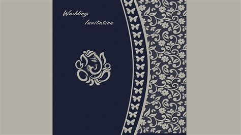 How to Design a Wedding Invitation Card Front Page in