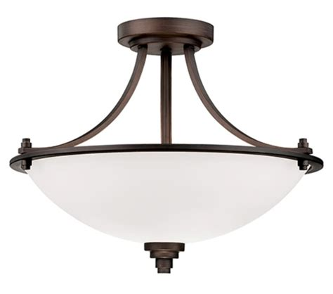 bristo bronze semi flush ceiling light etched glass