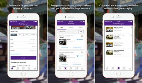 Car Apps For by Best Car Buying Apps For Iphone To Find Best Deals On New