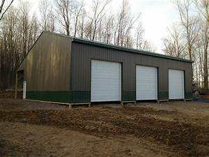 Instant get lean to pole barn addition frank c for 40 x 70 steel building