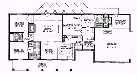 ranch style house plans  square feet  description  description youtube