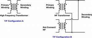 High Frequency Transformer Configuration For An Electronic Circuit Voltage Supply