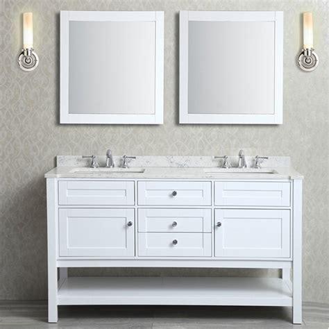 ariel bath  seacliff mayfield double sink vanity