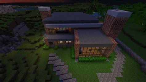 minecraft brick house youtube