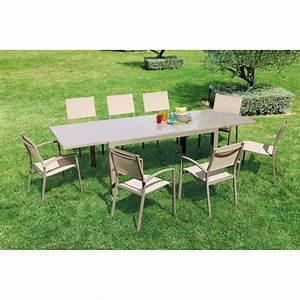Bricorama Salon De Jardin : table extensible memphis tables de jardin tables ~ Dailycaller-alerts.com Idées de Décoration
