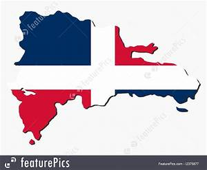 Flags  Dominican Republic Map Flag