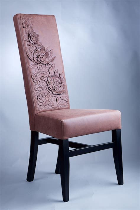 high back chair peonies design the northern company