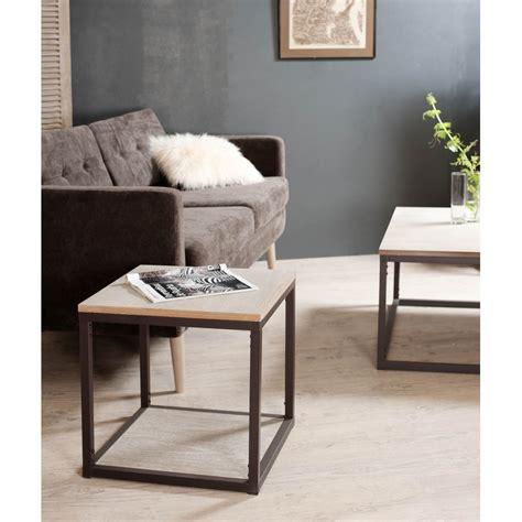 meuble bout de canapé bout de canapé avec tablette meubles macabane meubles