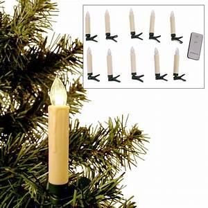 Led Lichterkette Kabellos : 10er led christbaumkerzen kabellos weihnachtskerzen weihnachtsbaum lichterkette kaufen bei www ~ Yasmunasinghe.com Haus und Dekorationen