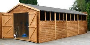 20ft x 10ft wood garden shed 20 x 10 wooden sheds new