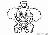 Clown Coloring Pages Clowns Colouring Circus Birthday Printable Scary Cb Face Cute Hat Print Kidopo Faces Sheets Cakes Squishmallows Miumiu sketch template