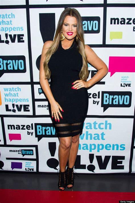 Khloe Kardashian Is Glowing In Black Bodycon For TV ...