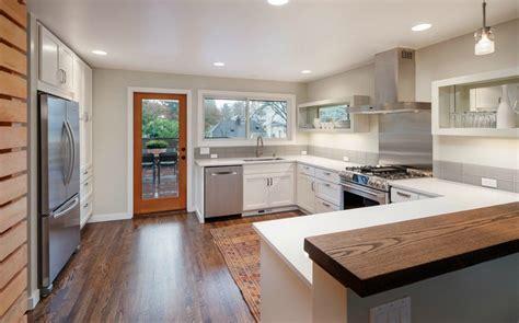 Updating Kitchen Ideas - re modeled madrona mid century modern urban living